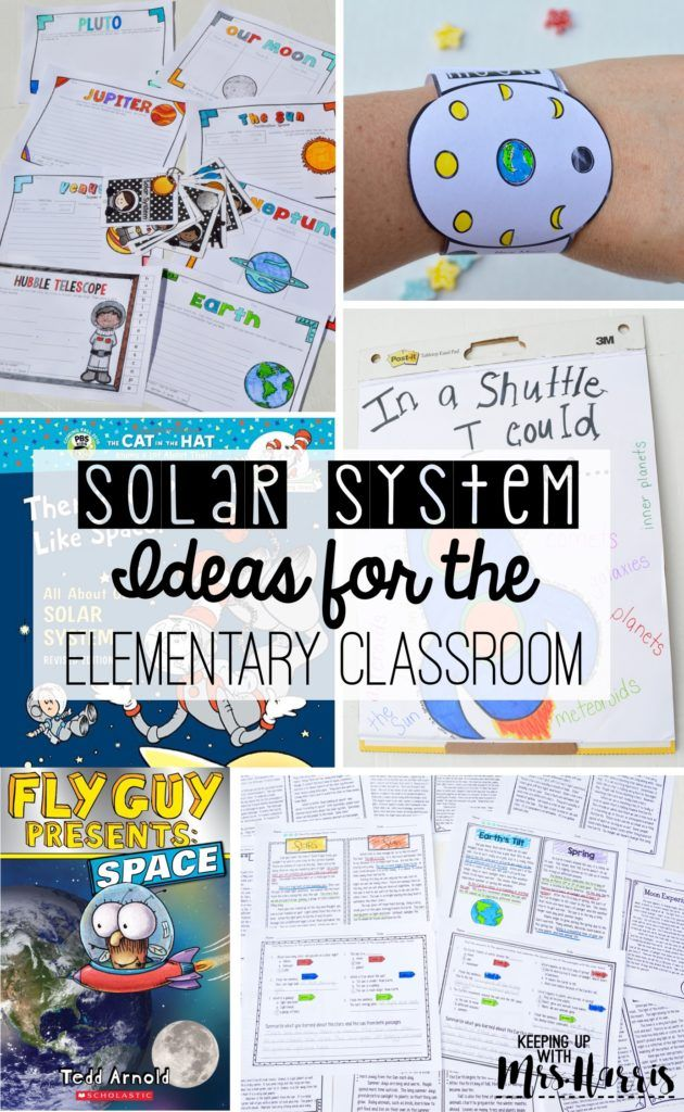 Solar System Activities for the Elementary Classroom ...