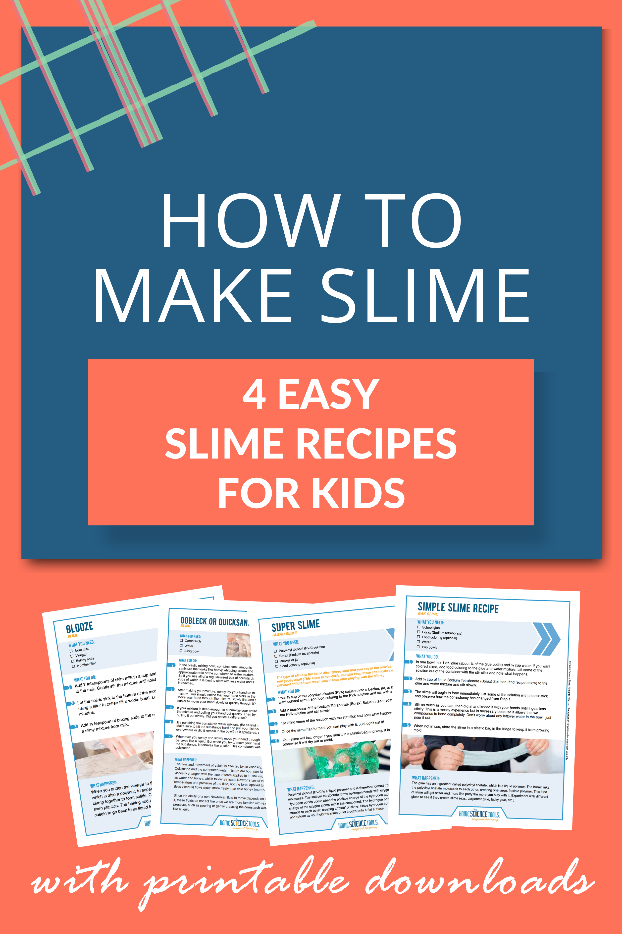 How To Make Slime Our 4 Most Popular Slime Recipes