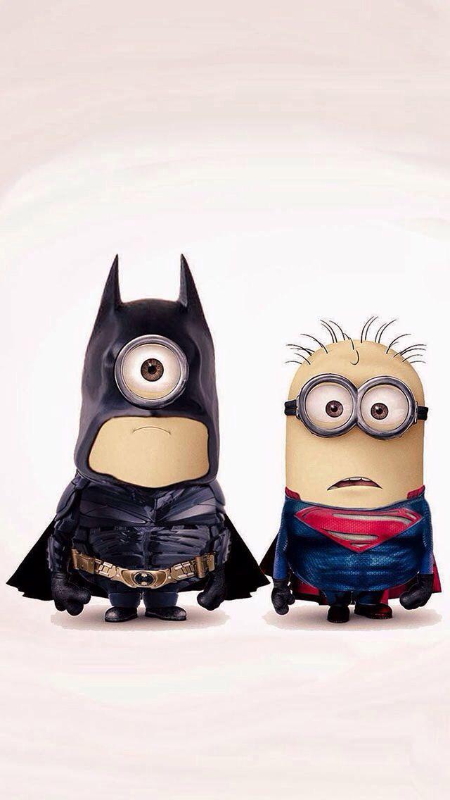 Bat Minion and Super Minion