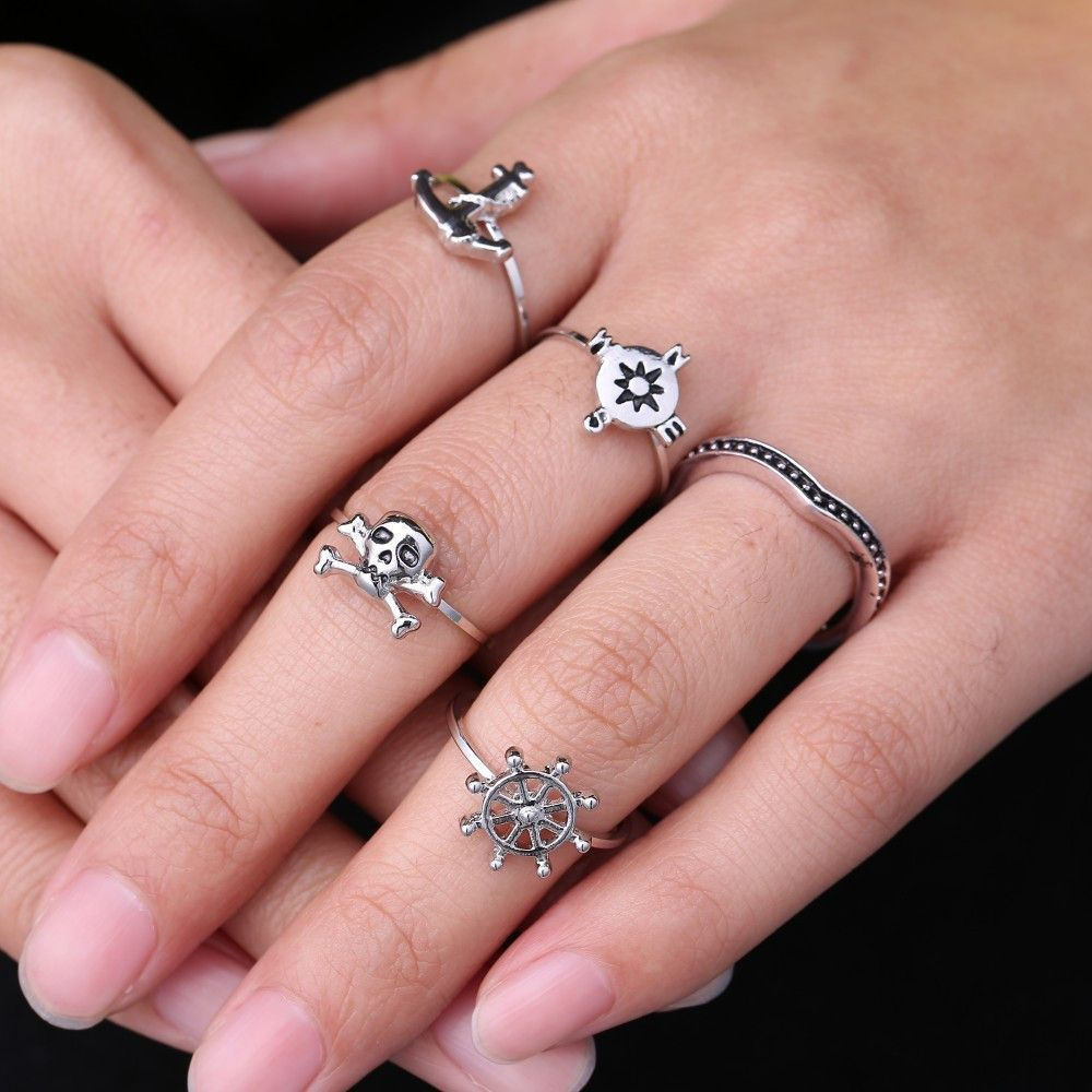 Vintage Corsair 5 pcs Ring | Products | Pinterest | Products