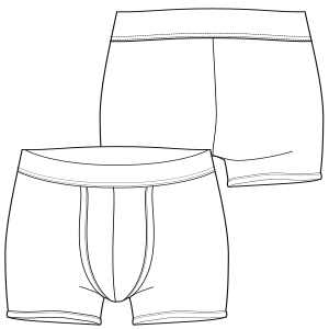 5a2bafdfe055 Elige los patrones de moda que emplean las marcas líderes Boxer 7241 HOMBRES  Ropa Interior