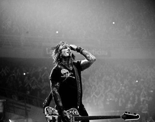 Nikki Sixx of Mötley Crüe.