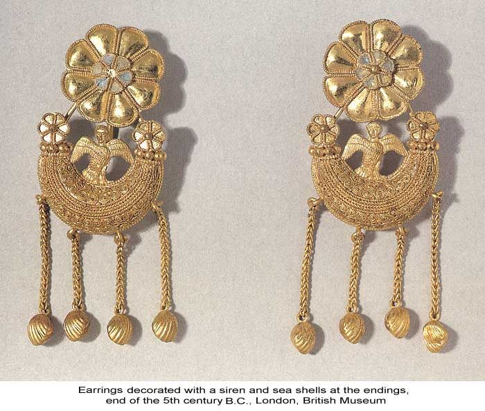 Ancient Greek Earrings Many Have Been Found In Peculiar Shapes That Still Make Us Wonder How They Could Worn