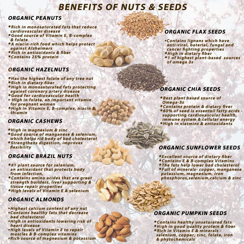 Health Nutrition Healthy Nuts And Seeds Seeds Benefits Nutrition