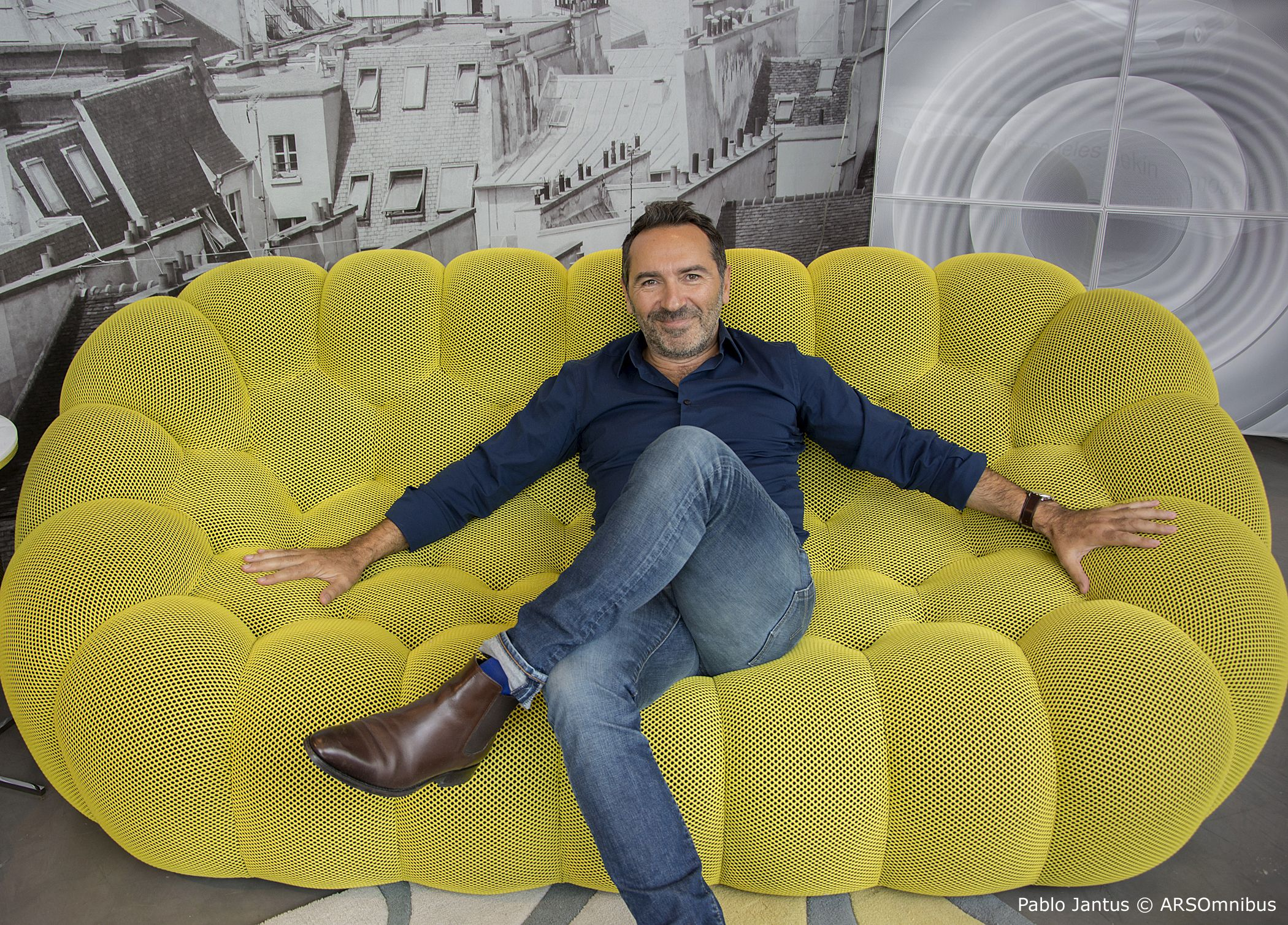bubble sofa sacha lakic bed kids on his in buenos aires for the