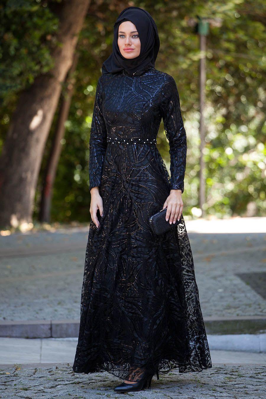Tesetturlu Abiye Elbiseler Tesetturlu Abiye Elbise Tesettur Bayan Giyimde Elbise Ferace Esarp Sal H Model Pakaian Hijab Pakaian Wanita Model Pakaian Muslim