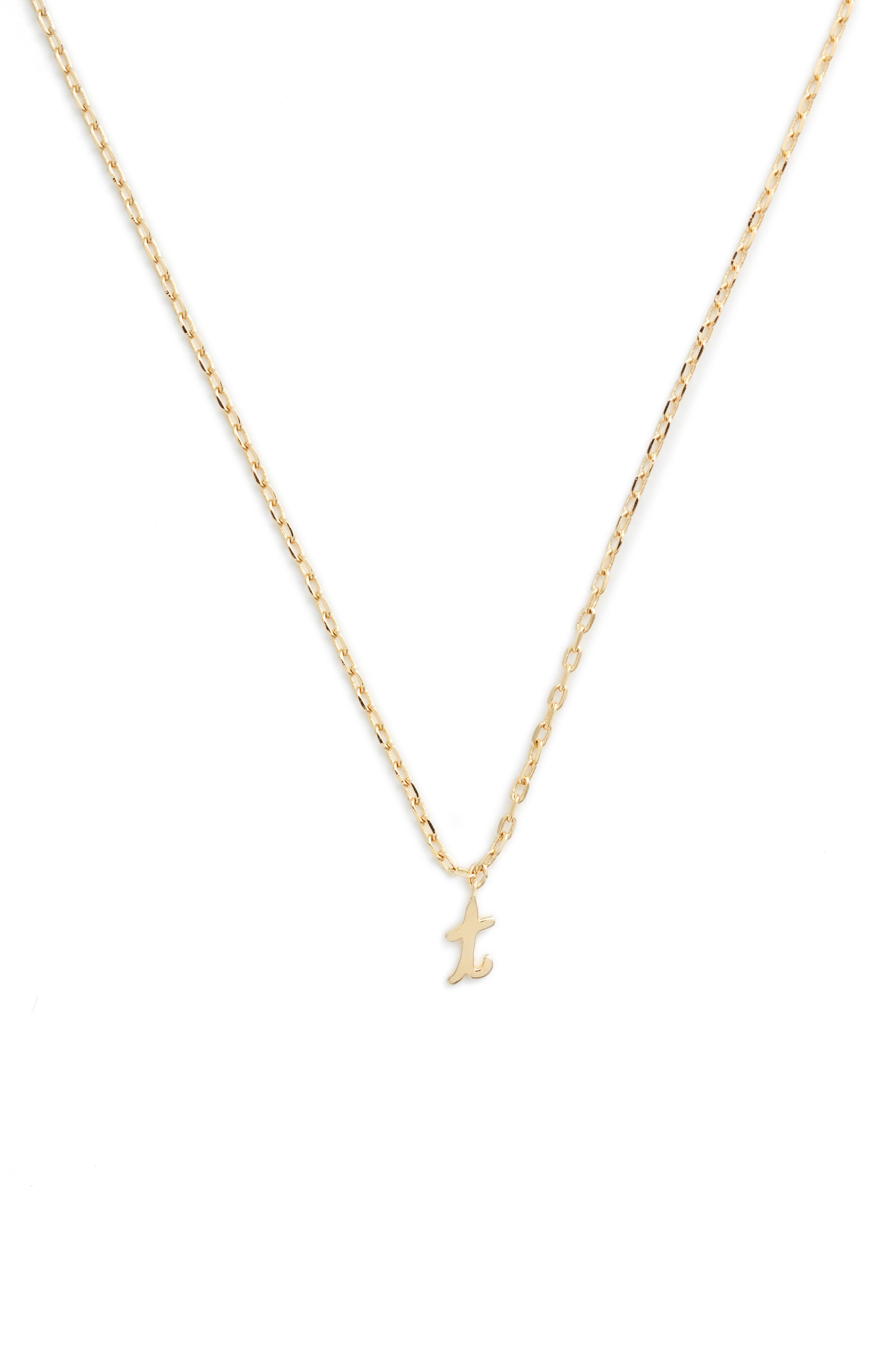 c45426a221590d Women's Kate Spade One In A Million Initial Pendant Necklace in 2019 ...
