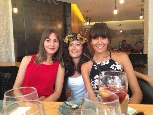 Ana Albadaledo, Ana Renedo y amiga de ambas :)
