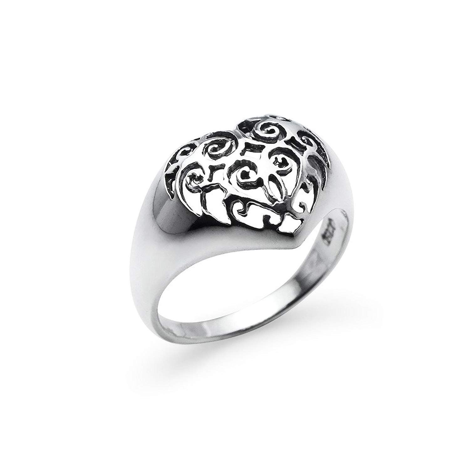 1fa9afffafe78 Vintage His Beauty/Her Beast Couple Lovers Promise Ring Engagement ...