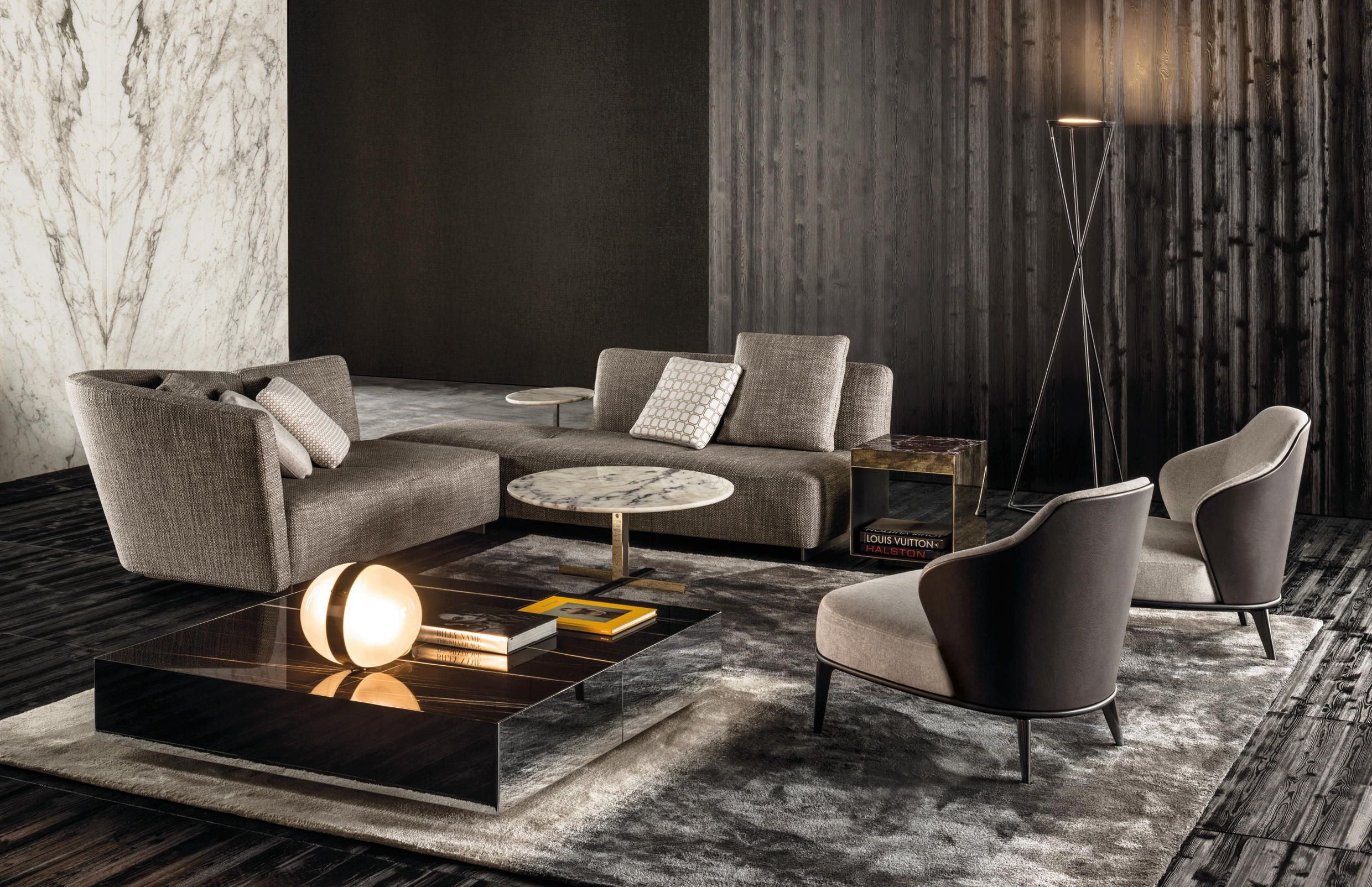 Lounge Seymour by Minotti 沙发 Pinterest