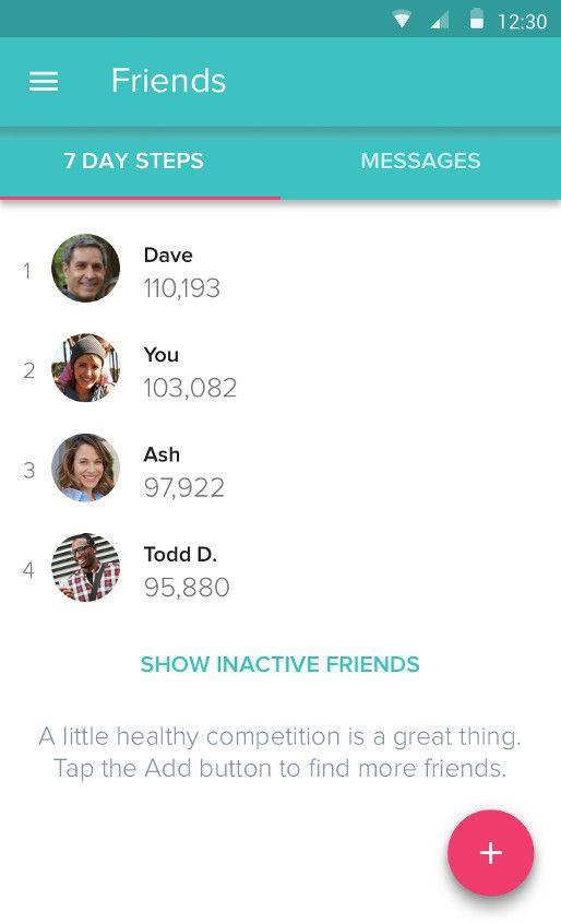 Fitbit App & Dashboard Fitbit app, App, Web design projects