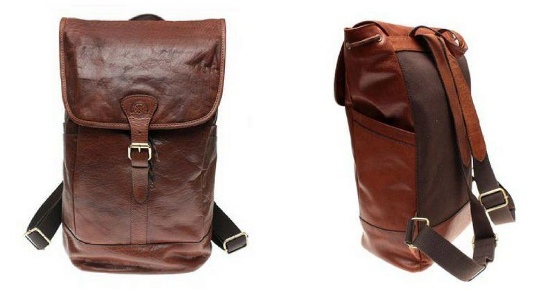 Snygga ryggsäckar i skinn  7d208e12bcd35
