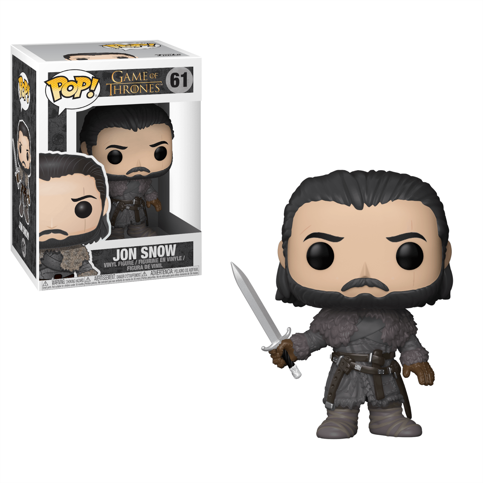 Game Of Thrones Jon Snow Beyond The Wall Pop Vinyl Figure Vinyl Figures Pop Vinyl Figures Pop Game Of Thrones