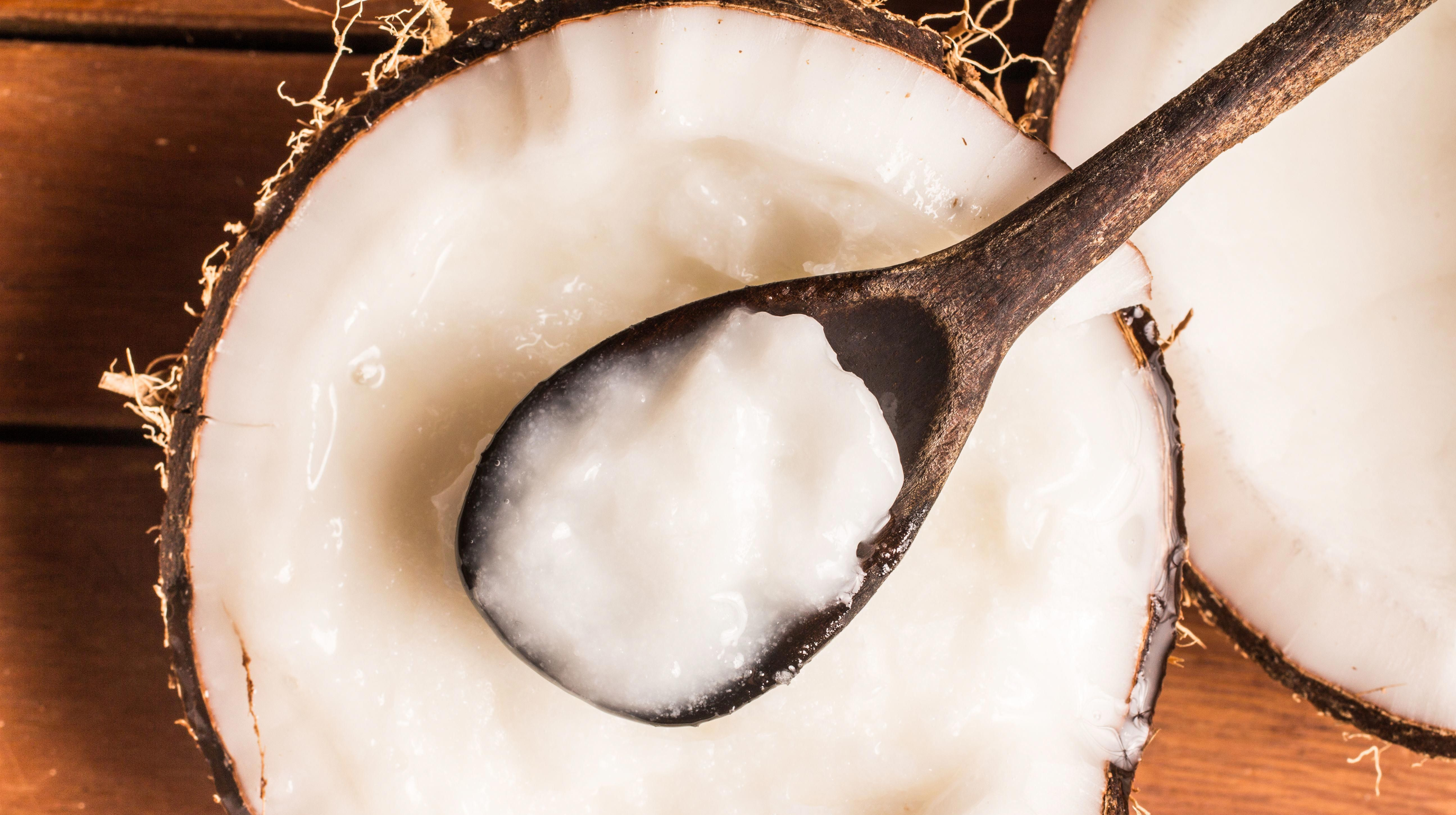 The study found that fatty acids derived from coconut oil