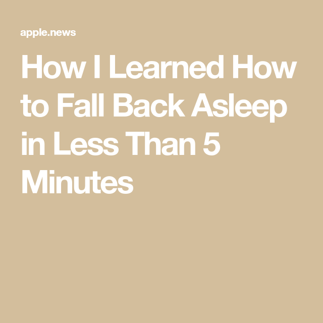 How I Learned To Fall Back Asleep In Less Than 5 Minutes Who What Wear Fall Back Asleep Embarrassing Moments