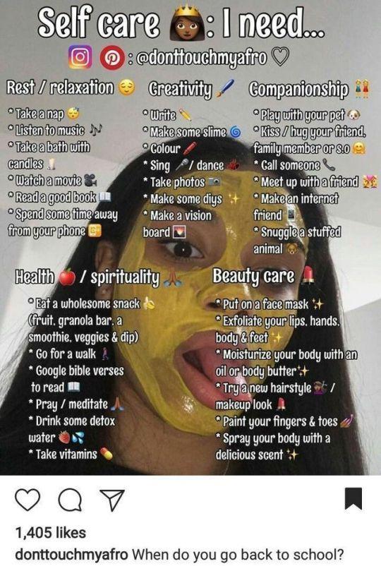 Selbstpflege www instagram com hellip ndash care donttouchmyafro wwwinstagramcom   – skin care