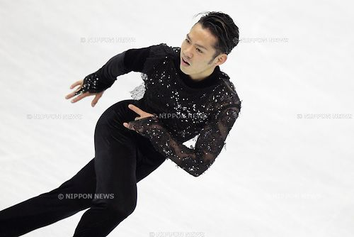 Daisuke Takahashi (JPN), .MARCH 30, 2012 - Figure Skating :   Daisuke Takahashi of Japan performs in the mens short program during the ISU World Figure Skating Championships at the Nice, France. .(Photo by AFLO) [2268]