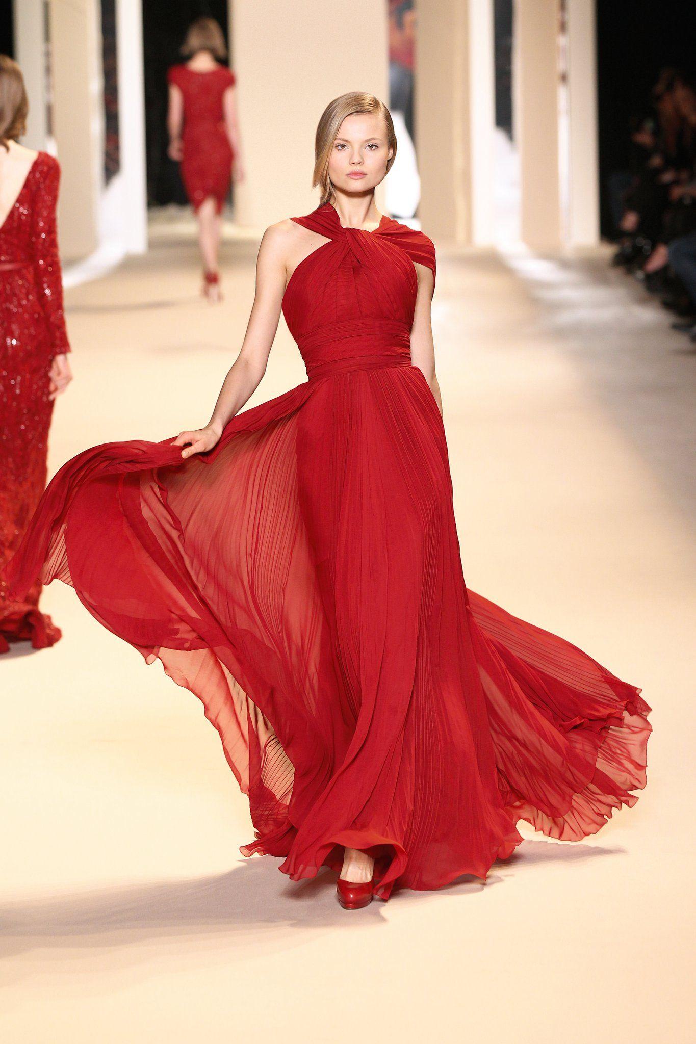 Nada como el rojo looks fashion u more pinterest elie saab