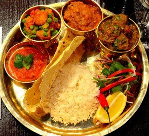 Absolutly look good and taste even better. Nepal curries are nicely spiced but not very hot.