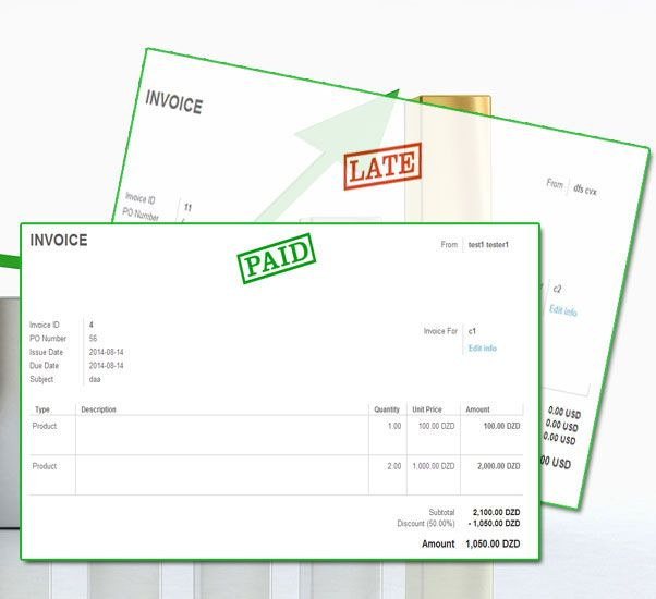 Invoicing Software You can send any type of invoice by your - how to type an invoice
