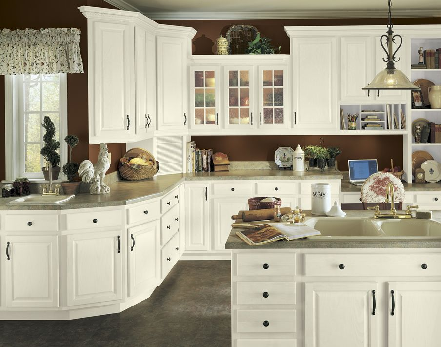 PARTIAL OVERLAY CABINETS WITH RAISED PANEL DOOR STYLE ...
