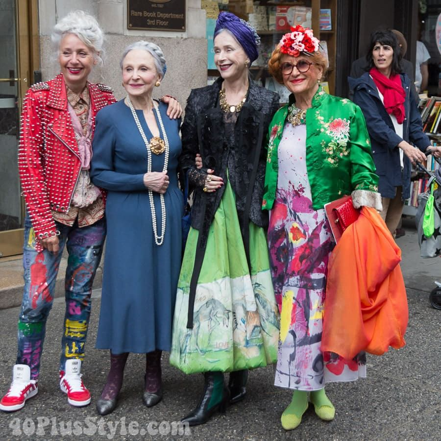 Fabulous style at the Advanced Style Older and Wis