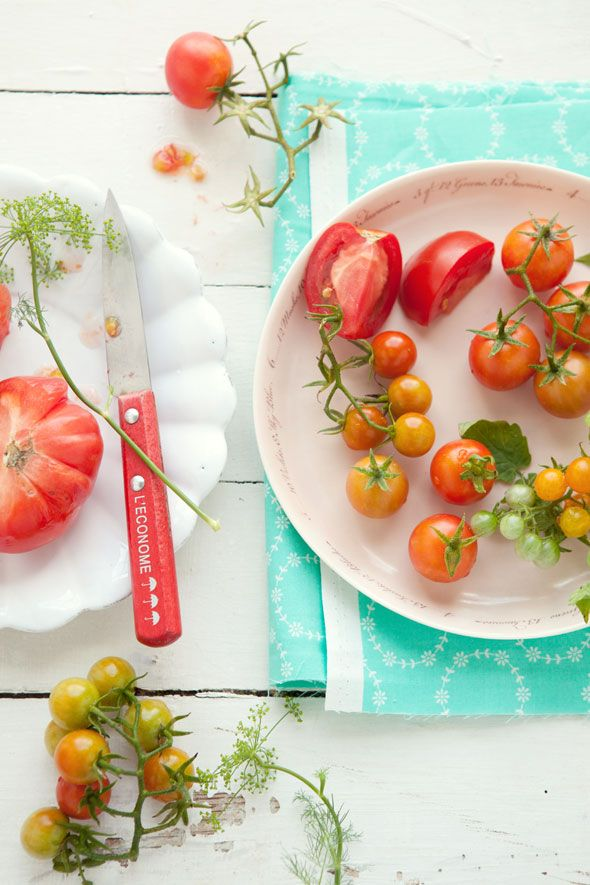 Cannelle Vanille. I have an obsession with tomatoes. I could eat them literally all day every day. And these look amazing!