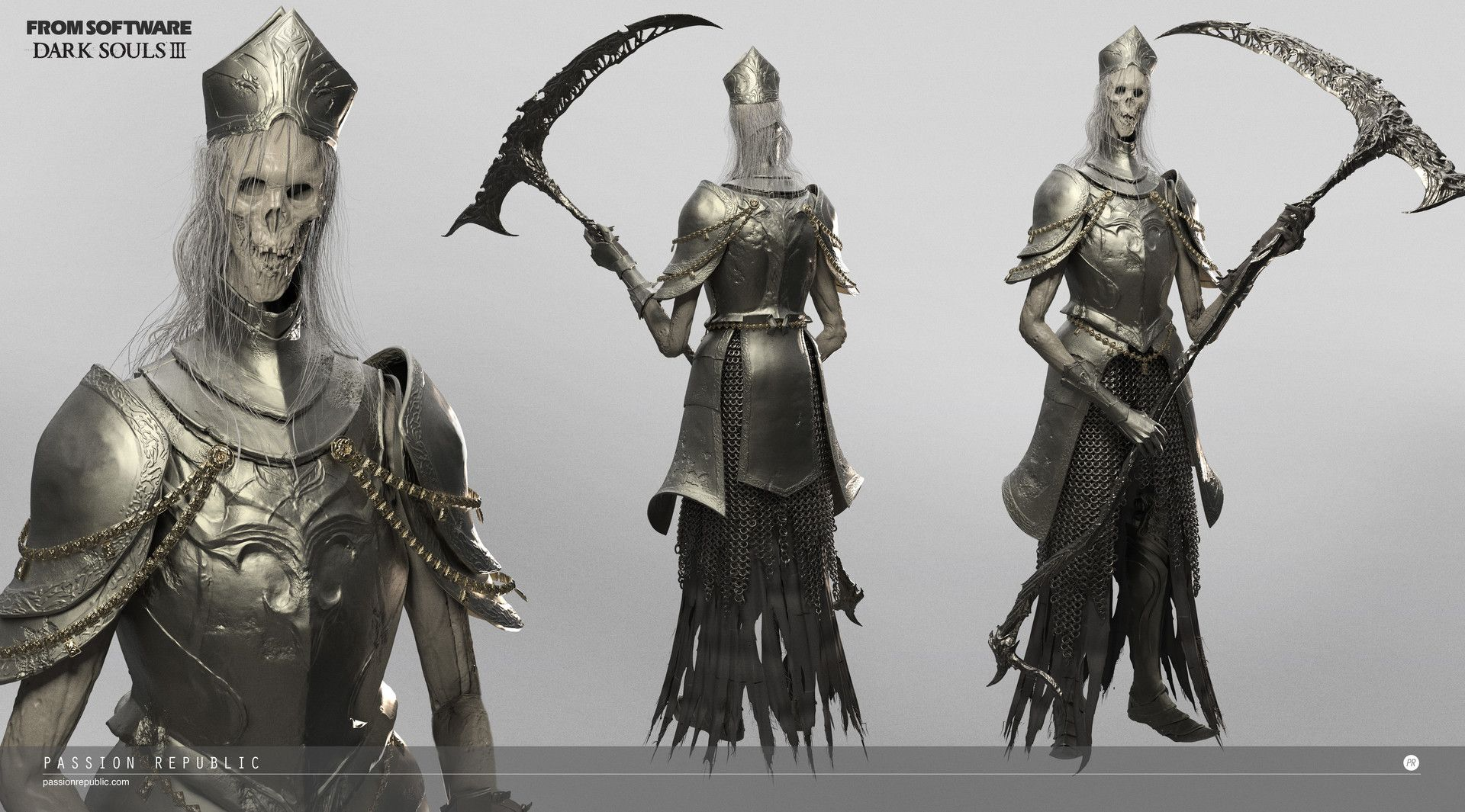 Character Design Dark Souls 3 : D character and creature modeling for dark soul