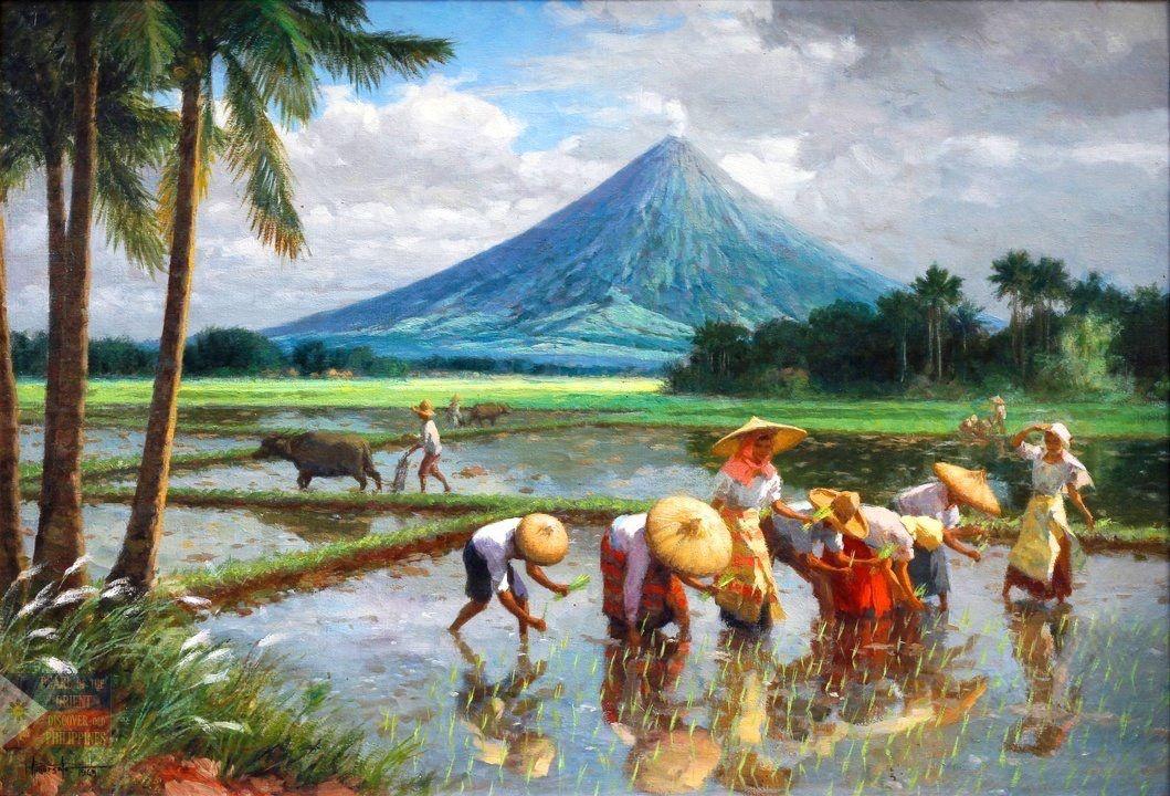 planting rice is never fun Artwork Pinterest