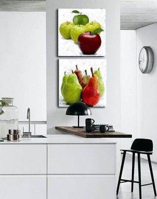Cuadros para cocina comedor moderno pinturas pinterest - Cuadros para comedor moderno ...