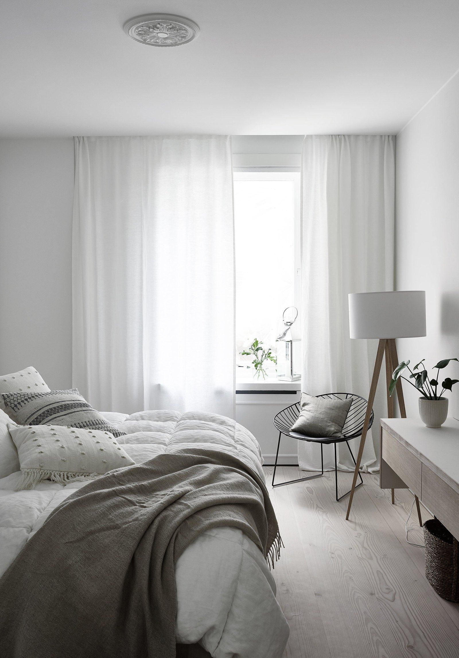 A bright white Finnish Home via Coco Lapine Design blog