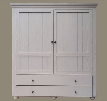 A Free Standing Wardrobe Offers Plenty