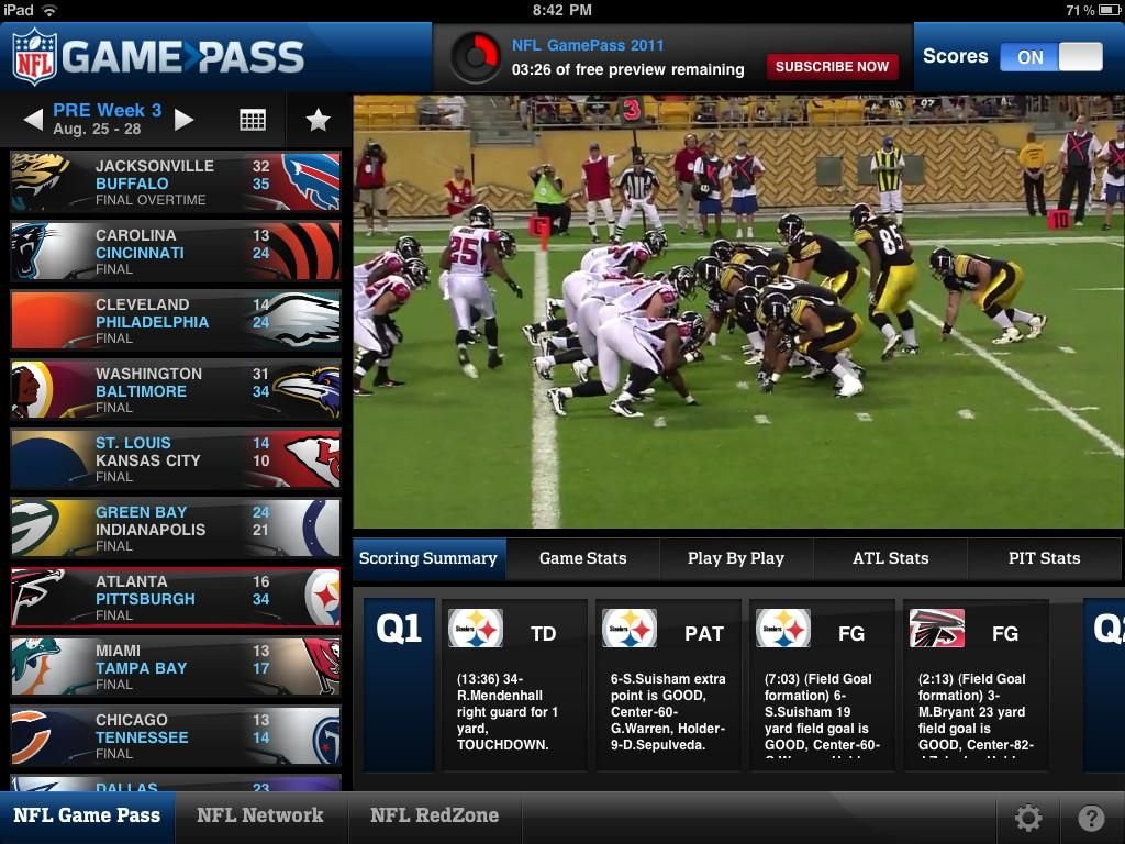 Dallas Cowboys Games Live Stream Apps Review Nfl games