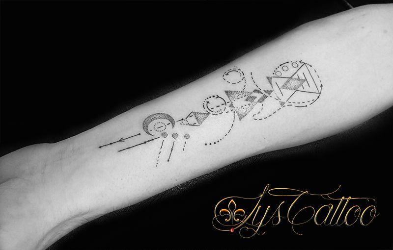 Tatouage Avant Bras Homme Garcon Men Tattoo Tatouage Geometrique