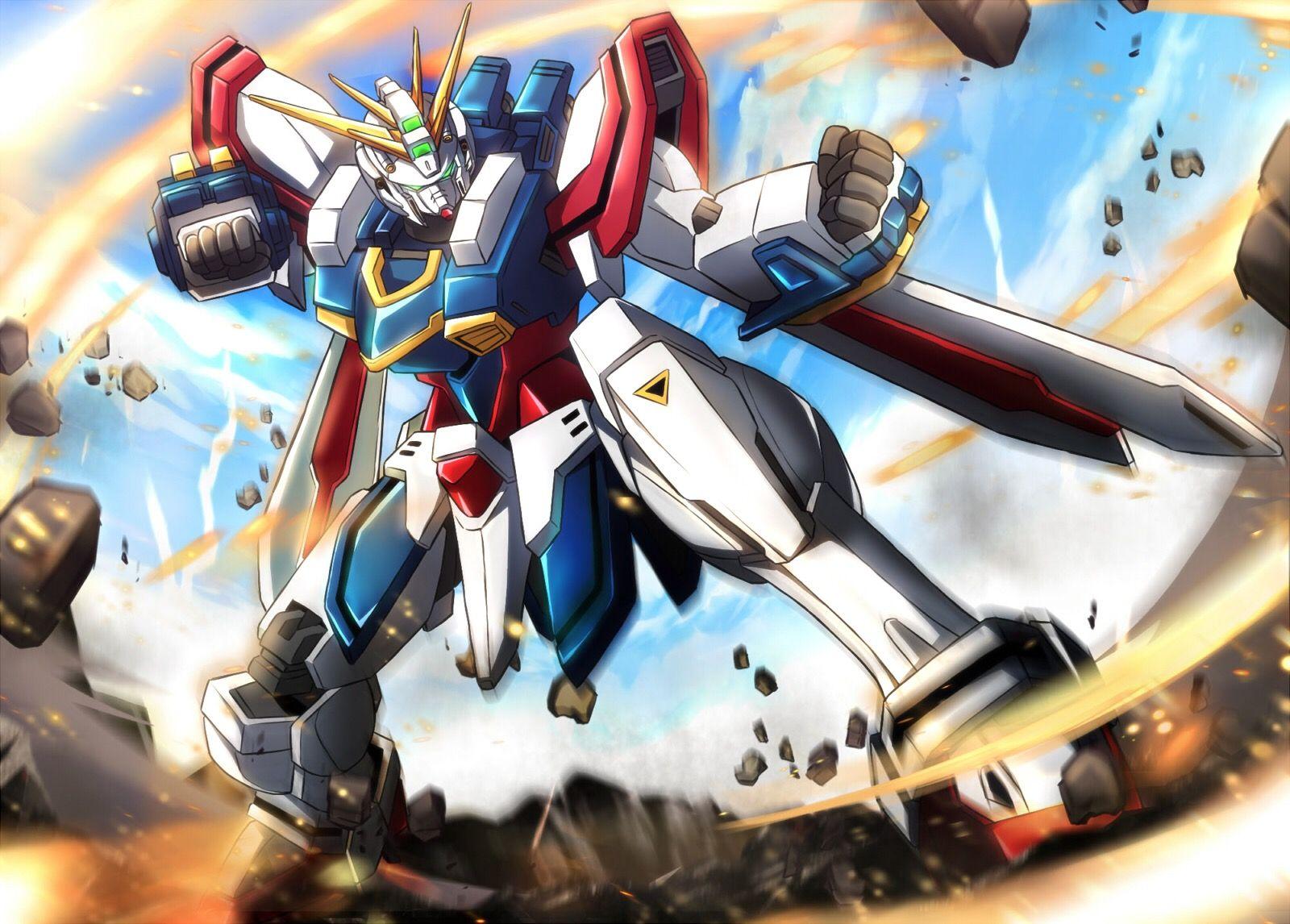 Mobile Fighter G Gundam Gf13 017njii God Gundam Mobile Fighter G Gundam Gundam Art Gundam