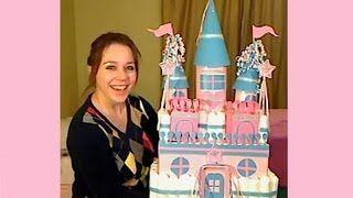 How To Make A Diaper Castle, via YouTube.