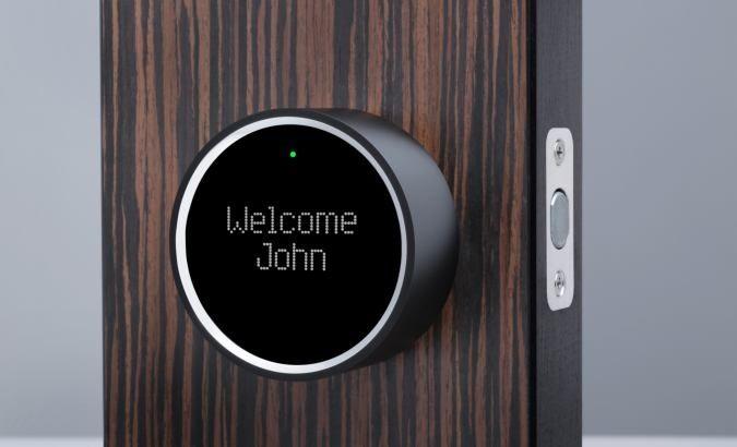 Goji Smart Lock The Smartphone Activated Keyless Entry Door Lock