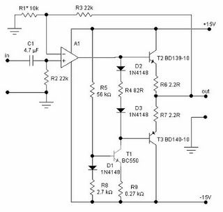 headphone amplifier circuit amplifiers pinterest circuit rh pinterest com TL082 Projects TL082 Preamplifier Circuits