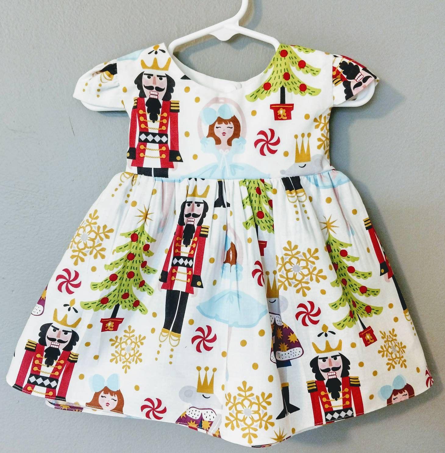 440a52e13 Nutcracker dress, Nutcracker toddler dress, girls Christmas dress, baby  Christmas dress, 1st Christmas dress, Christmas dress for girls, ...