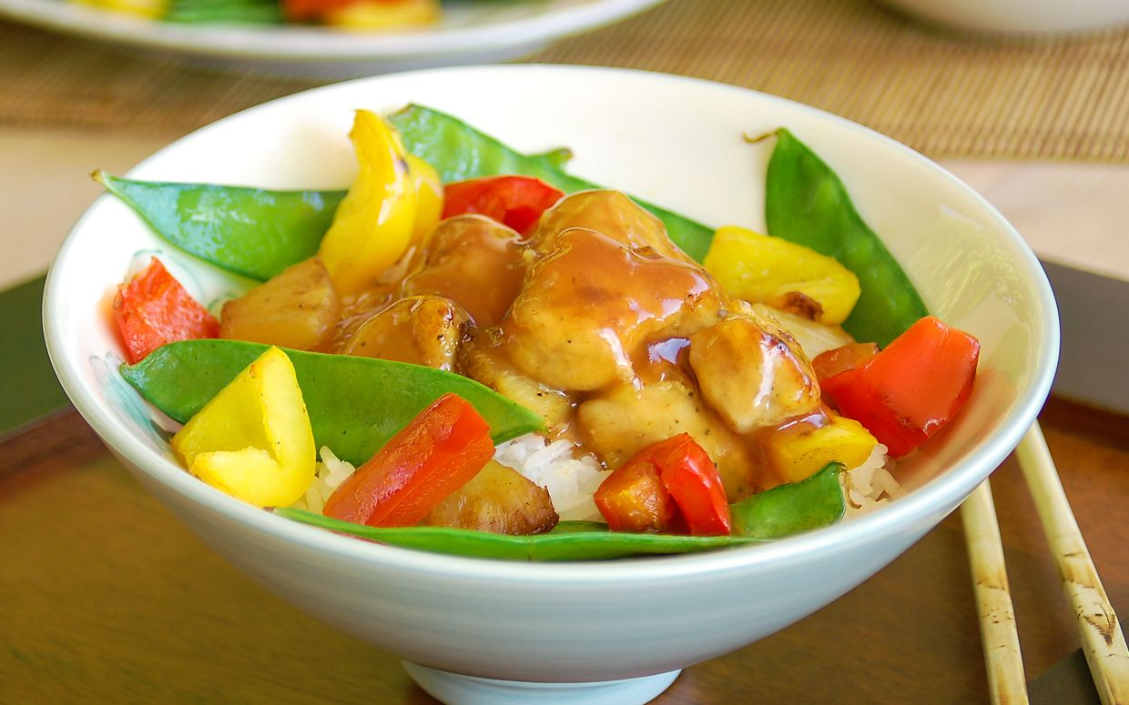 Incredibly Easy 30-Minute Sweet and Sour Pork #chinesemeals
