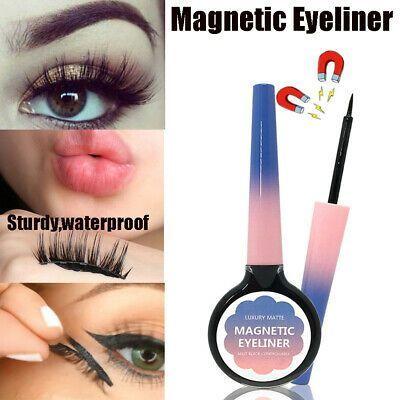 Langlebig kein klebstoff erforderlich wasserdicht für magnetische wimpern magnetischer eyeliner -