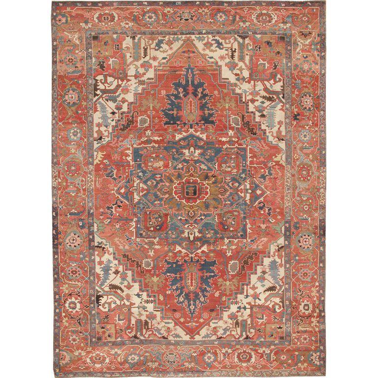 Antique Serapi Carpet Rugs on carpet, Carpet runner, Rugs
