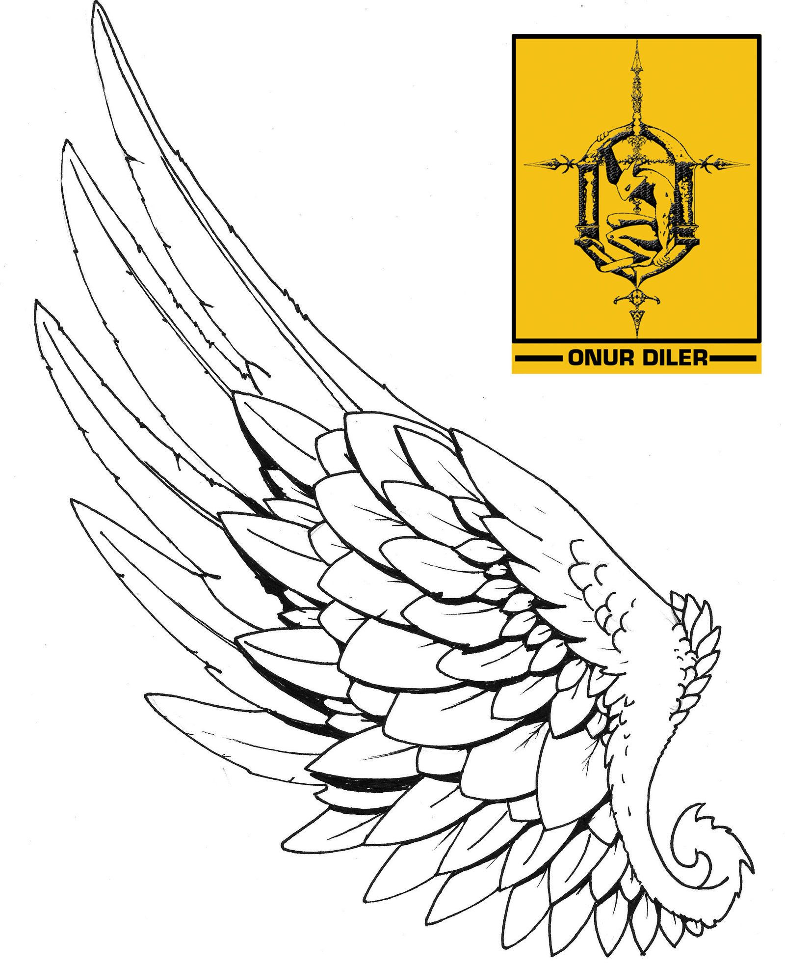 Wing tattoo design - One Of The Two Icarus Ink Wings I Have Always Wanted A Tattoo And Have