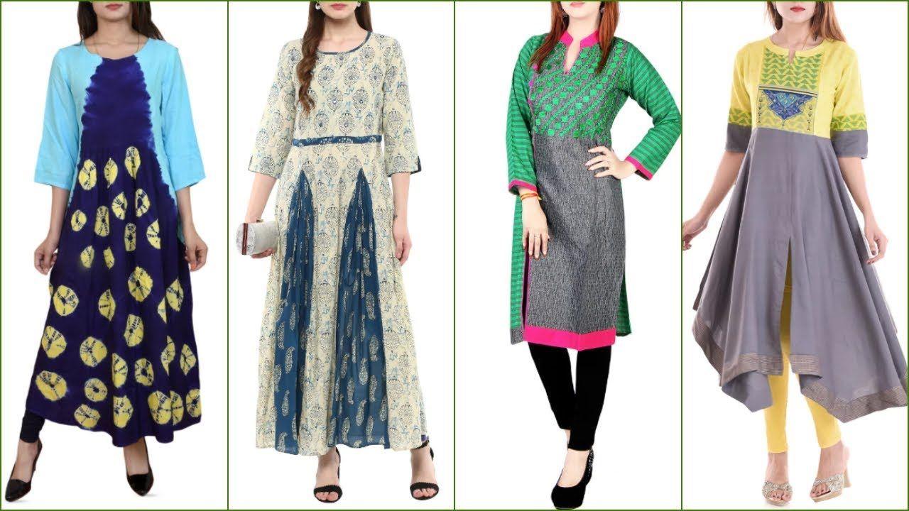 Latest long kurti designtrendy long kurti collectu latest long
