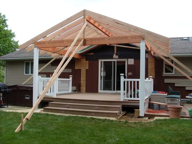 Covered Deck Patio Roofs