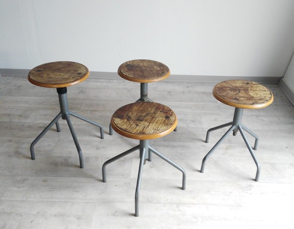 Sgabelli industriali vintage stools table stool e bar stools