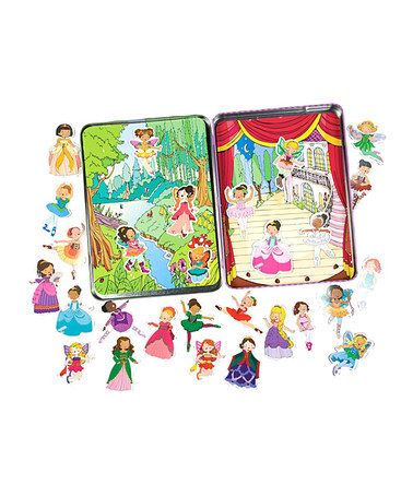 Take a look at this Princess & Fairy Magnet Set by T.S. Shure on #zulily today!