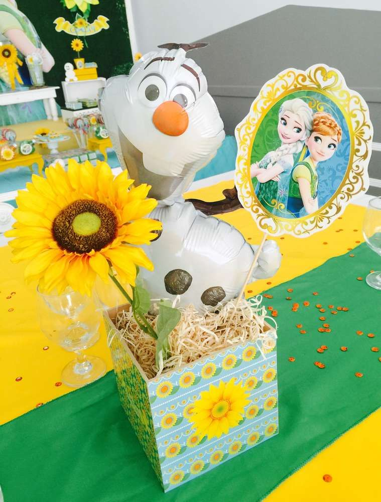 Frozen Fever Birthday Party Ideas | Photo 1 of 20