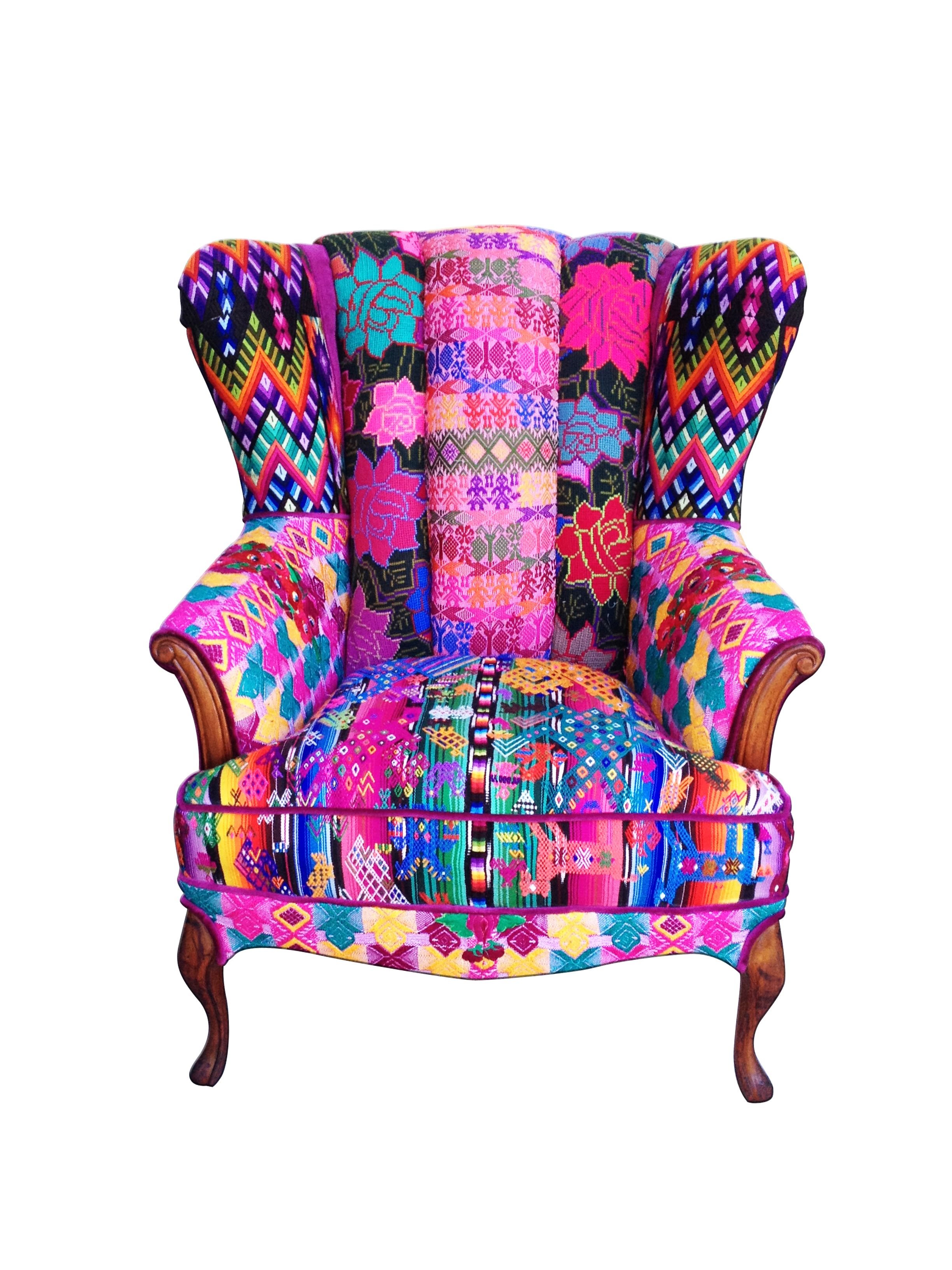 Stühle Esszimmer Patchwork Iris Chair By Folk Project Home Office Pinterest Bunte Möbel