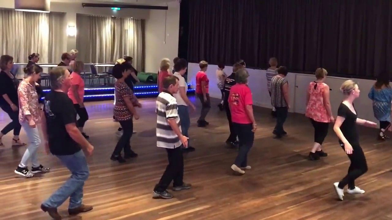 Feel the beat line dance by chris watson song by ashleigh dallas